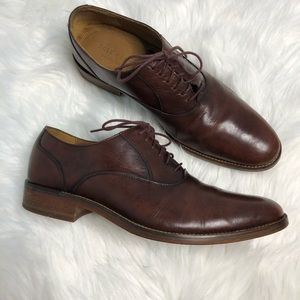 Cole Haan Grands Madison Brown Oxfords C12484